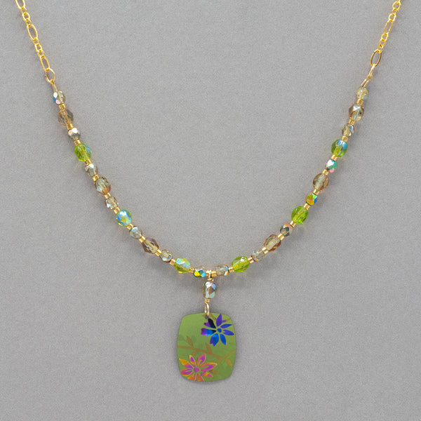 Holly Yashi Meadow Beaded Necklace