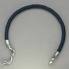 Italgem Blue Leather Bracelet