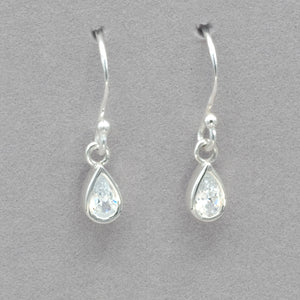 Boma Cubic Zirconia Drop Earrings
