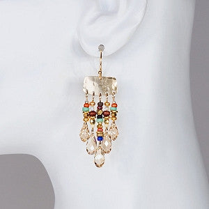 Holly Yashi Giselle Earrings - Gold / Multi