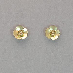 Holly Yashi Viola Post Earrings