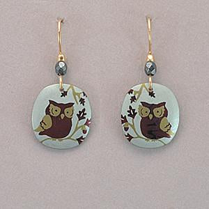 Holly Yashi Wise Owl Earrings