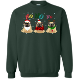 Ho Ho Ho Pug Christmas Sweater