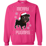 Black Pug Christmas Sweaters