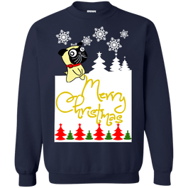 Merry Christmas Pug Pee Sweaters