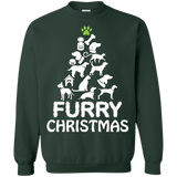 Furry Christmas Sweaters