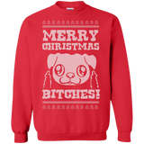 Merry Christmas Bitches - Pug Christmas Sweaters and Hoodies