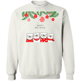 Happy Holidays Pugs Sweater