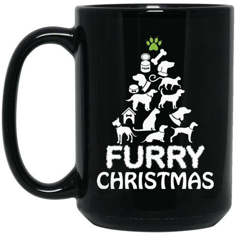 Furry Christmas Coffee Mug