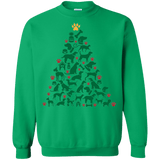 Dog Christmas Tree Holiday Sweater