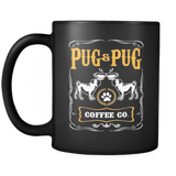 Pug Coffee Company mug