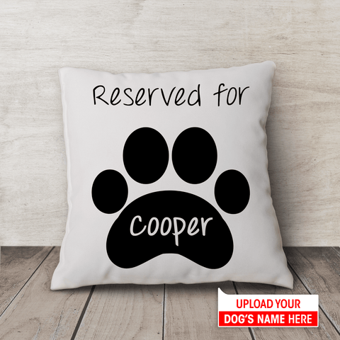 Reserved For... | Pillow