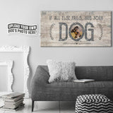 If All Else Fails | Personalized Canvas Wall Art