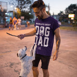 Worlds Best Dog Dad Apparel