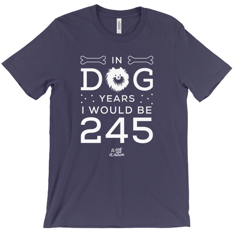 In Dog Years I Would Be 245 Apparel