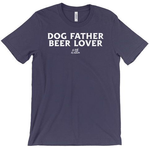 Dog Father Beer Lover Apparel