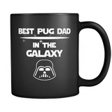 world's best pug dad mug