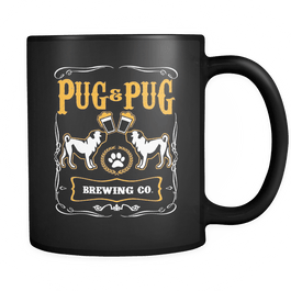 pug & pug brewing co mug
