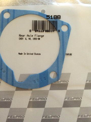 FEL-PRO Rear Axle Retainer Plate Gasket P/N 5188  (One required per wheel)
