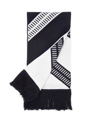 Corinthian 1882 Men's Luxury Merino Wool Club Scarf