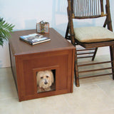 Crown Pet Products Dog Den Cabinet / Indoor Dog House / Mahogany / DDC-MAH - ADoggiesHome.com