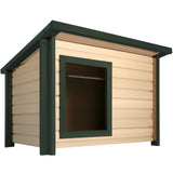 New Age Pet® ecoFLEX™ Rustic Lodge™ Dog House - A Doggie's Home
