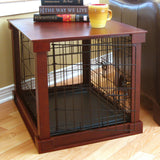 Merry Products™ Cage with Crate Cover / Indoor Pet Crate Table - A Doggie's Home