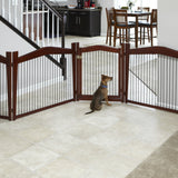 Merry Products™ 2-IN-1 Pet Crate and Gate - A Doggies's Home