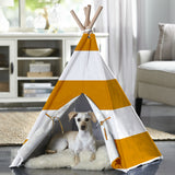 Merry Products™ Pet Teepee with Orange Stripes PTP0010202200 PTP0020202200 - A Doggie's Home