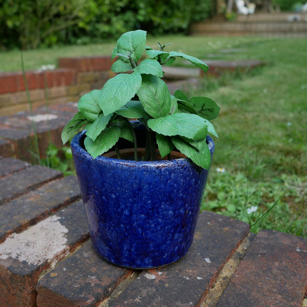 blue-garden-flower-pot