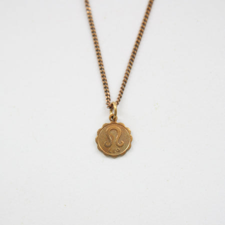 Virgo - Small Zodiac Medallion