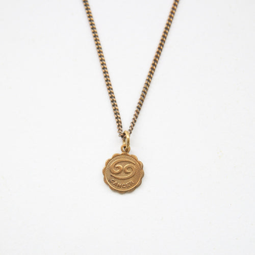 Cancer - Small Zodiac Medallion