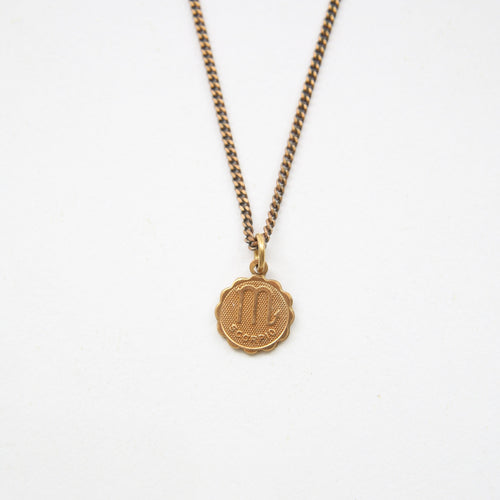 Scorpio - Small Zodiac Medallion