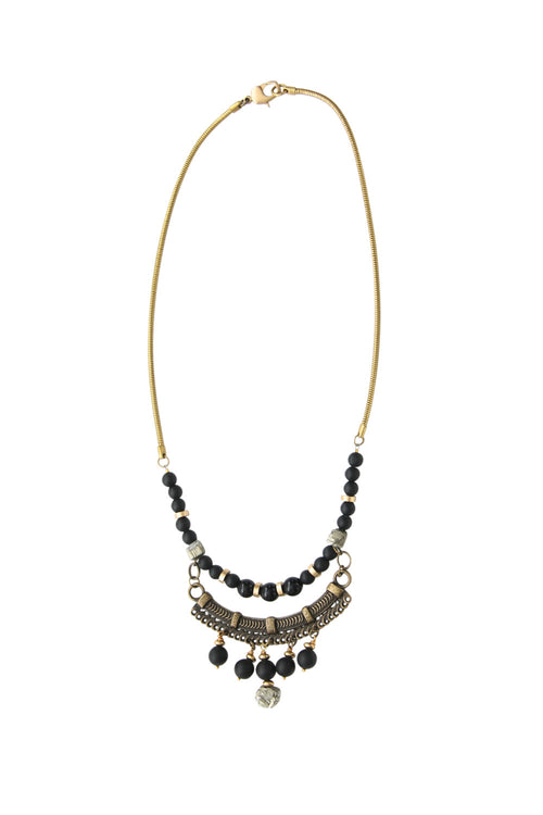 Laborde Designs Jewelry Chisisi Pyrite Vintage Necklace