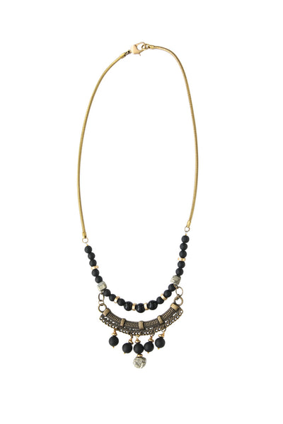 Chisisi Pyrite Vintage Necklace