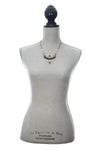 Laborde Designs Jewelry Gamal Moonstone Vintage Necklace Modeled