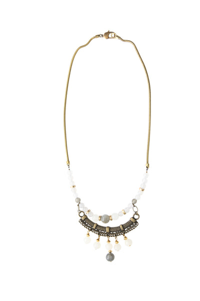 Gamal Moonstone Vintage Necklace
