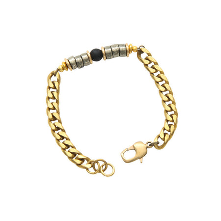 Renenet Moostone Brass Bracelet