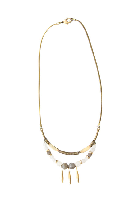 Femi Moonstone Vintage Necklace