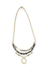 Laborde Designs Jewelry Fadil Onyx Vintage Necklace