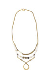 Laborde Designs Jewelry Femi Moonstone Vintage Necklace