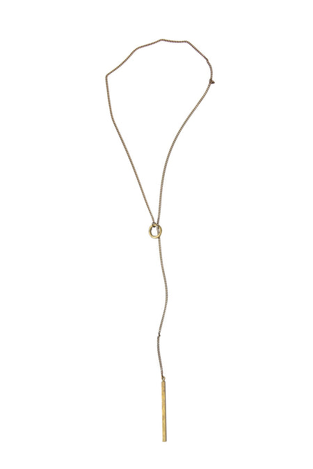 Masud Vintage Triple Bar Necklace
