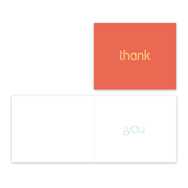 Brief Greetings: Thank You set