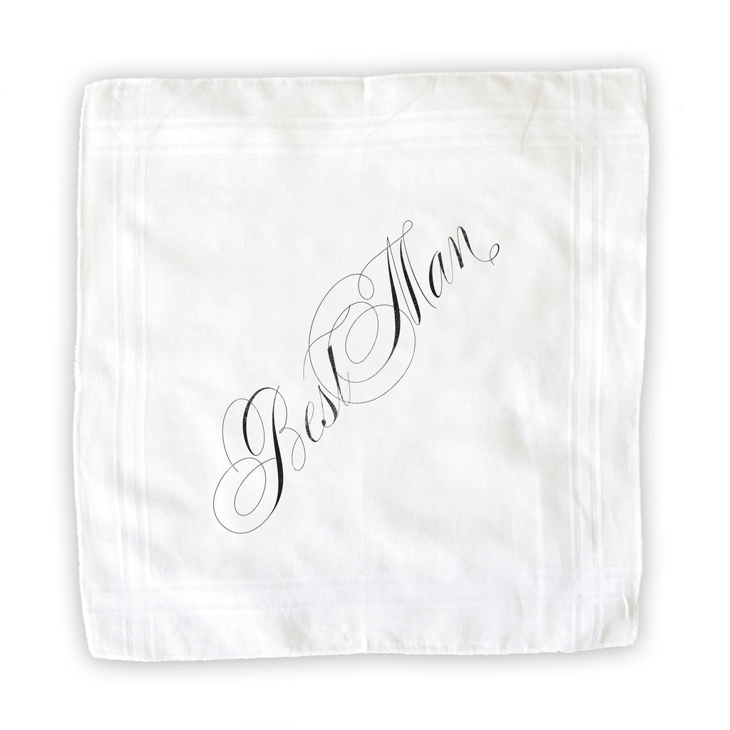 Best Man Handkerchief