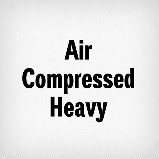 Air Compressed