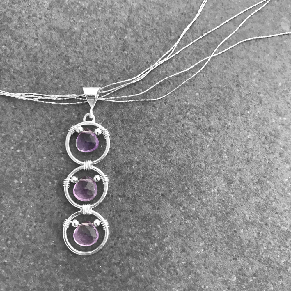 Intuition - 6th Chakra - Purple Amethyst - EliseLebeau.com