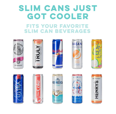 Slim Can Cooler (12oz) - You Glow
