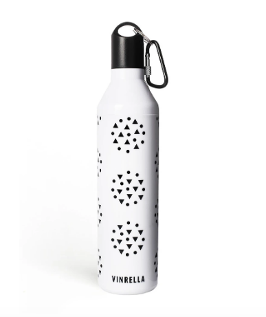 Water Bottle Umbrella - White Galaxy