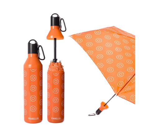 Water Bottle Umbrella - Melon Burst