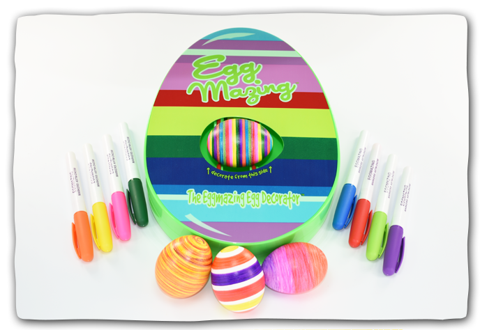 EggMazing Egg Decorator - Egg Shape